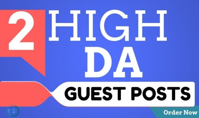 I will publish guest post on 2 high da websites