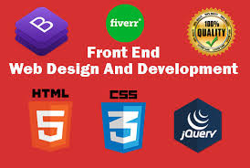 Front End Web design and Backend Work
