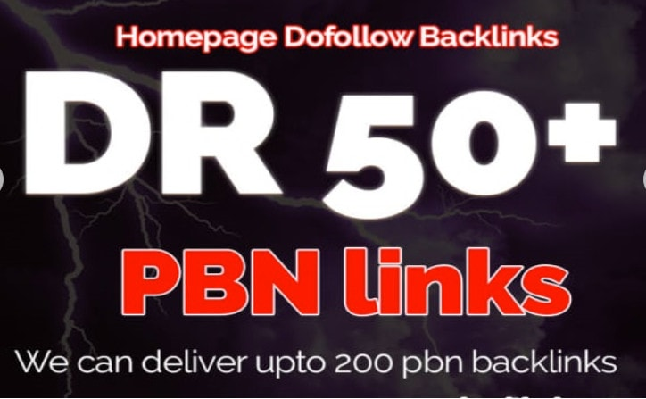Build 3 permanent DR 50 homepage pbn dofollow backlink