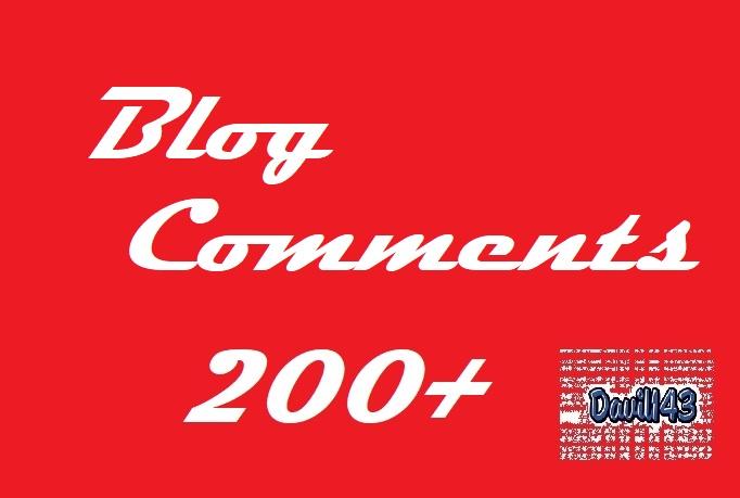 40 Niche Relevant Blog Comments