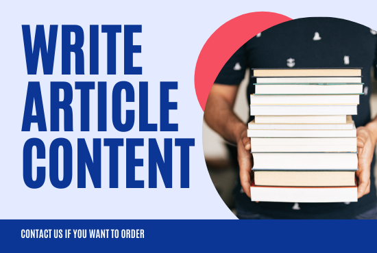 I will write a 500 words high-quality and compelling article for your website