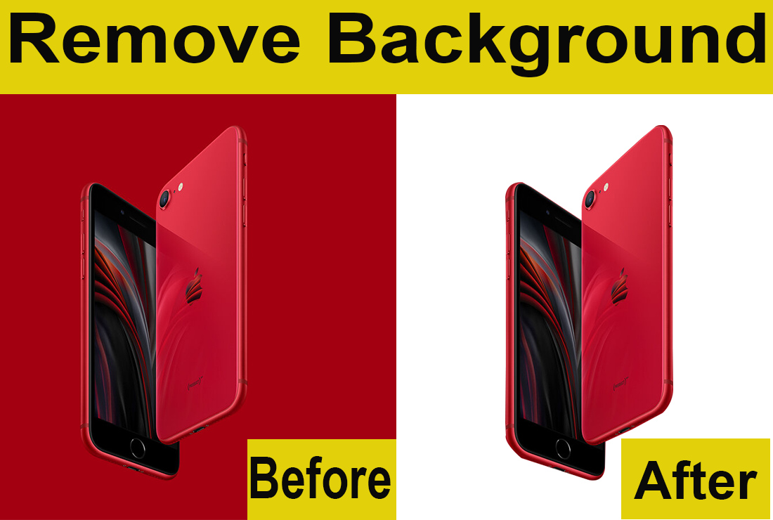I will remove background for your products image