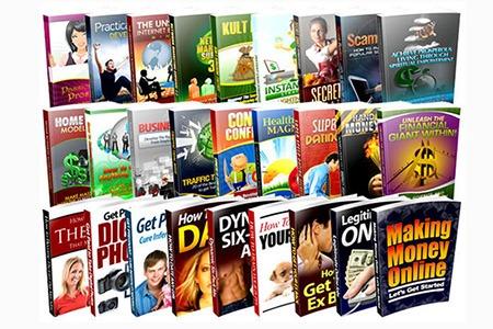 Over 15GB PLR Articles Ebooks & Video