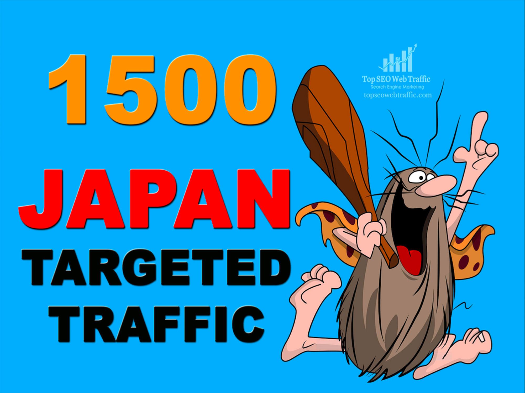PROVIDE 1,500 HIGHT QUALITY JAPAN WEB TRAFFIC VISITORS