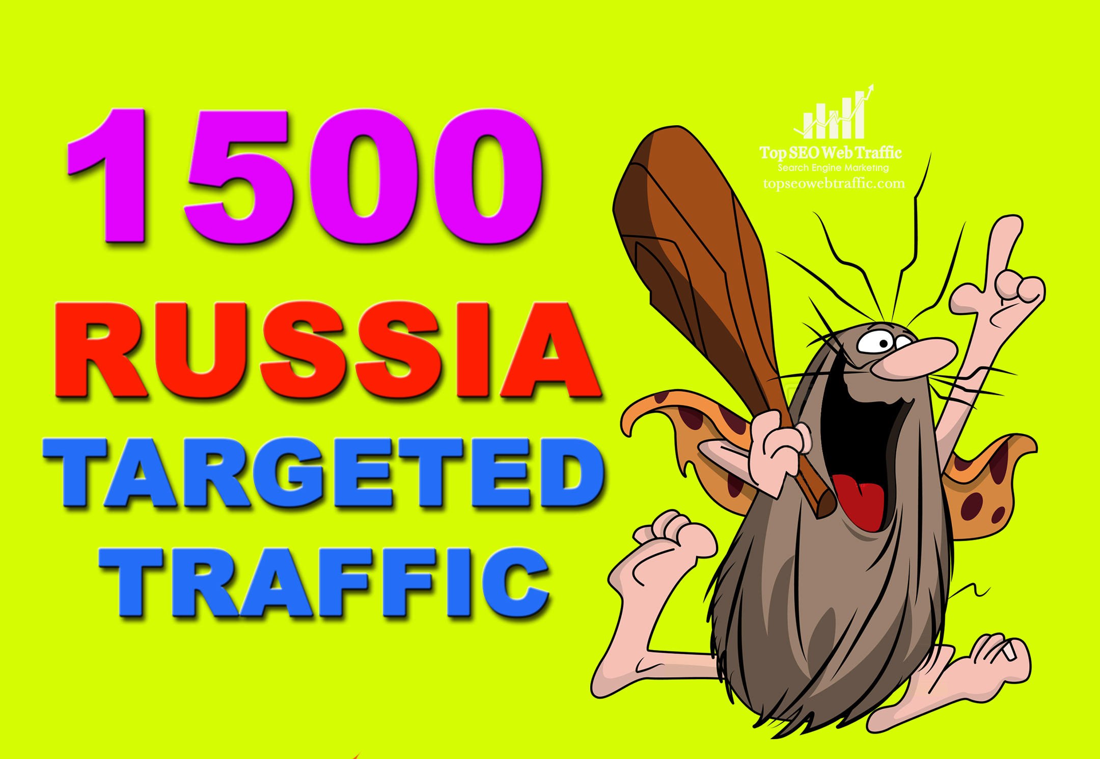 GET 1,500 HIGH QUALITY RUSSIA WEB TRAFFIC VISITORS