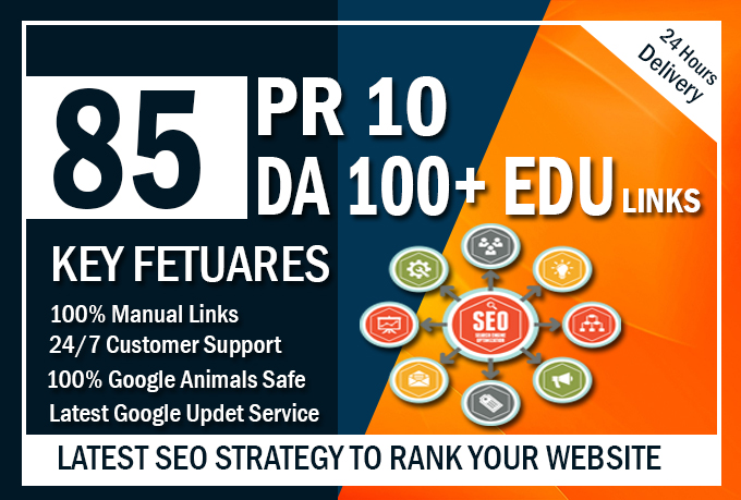I will catapult your SEO rankings with manual high authority backlinks