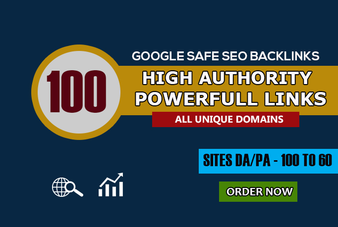 I will rank higher in google with high domain authority seo backlinks