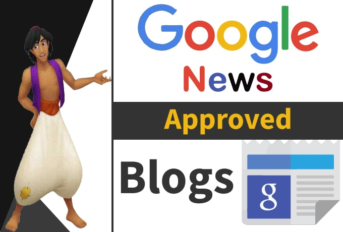 I will guest post on my google news approved website