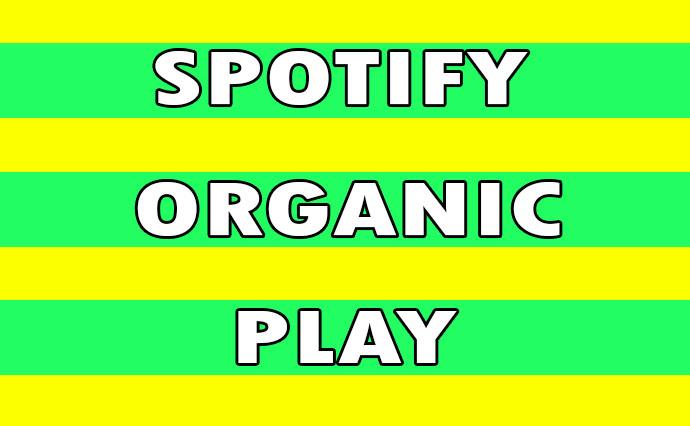 Organic sp0tify Streams for track/playlist