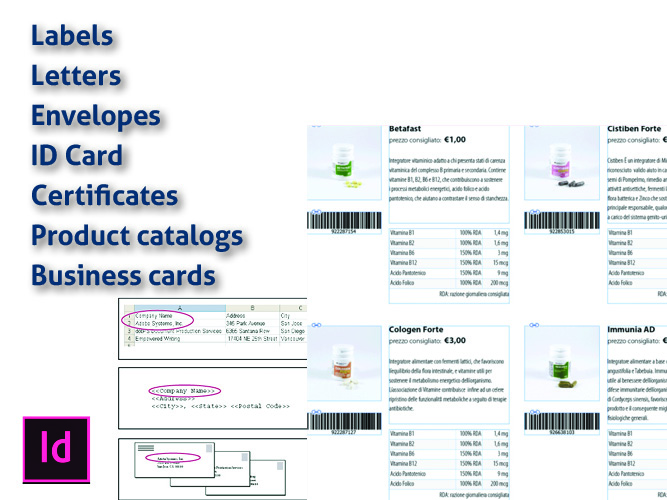 Do Mail Merge Labels, Letters, Envelopes And Certificates Design