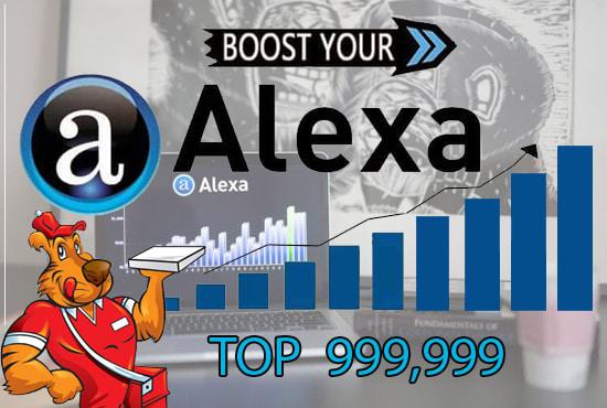 Improve your ranking on Alexa.