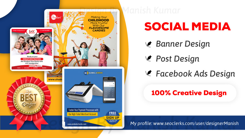 Creative Social Media Post,  Banner,  Profile Design Bulk Order
