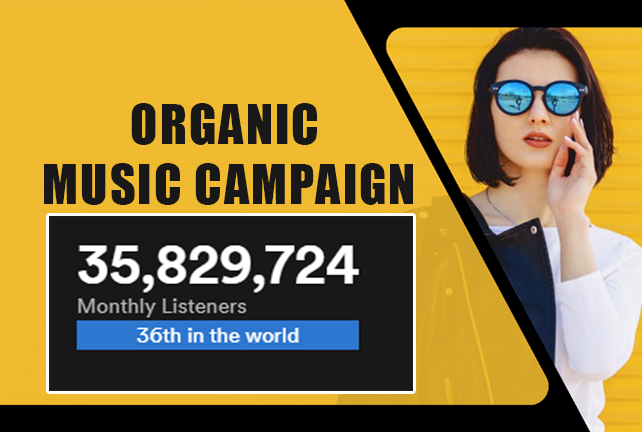 HQ Music monthly listeners campaign to boost popularity through SEO