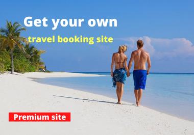 I will create premium travel affiliate web site