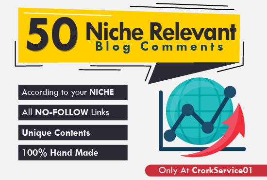 Provide 100 High Quality Niche Blog Comments With Low OBL
