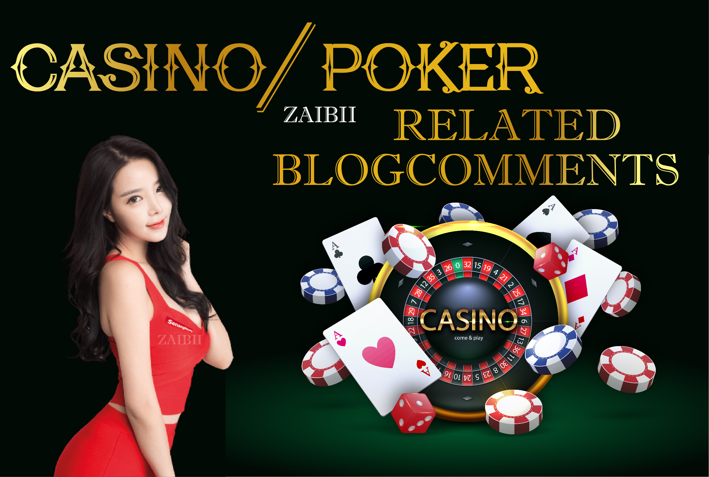 Do Casino/Poker related Do-Follow high DA PA Blogcomments