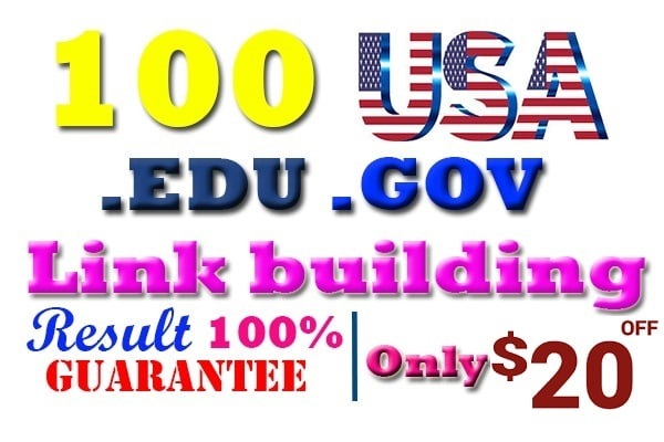 build manually 100 edu and gov profile moz70+da trusted dofollow powerful backlink