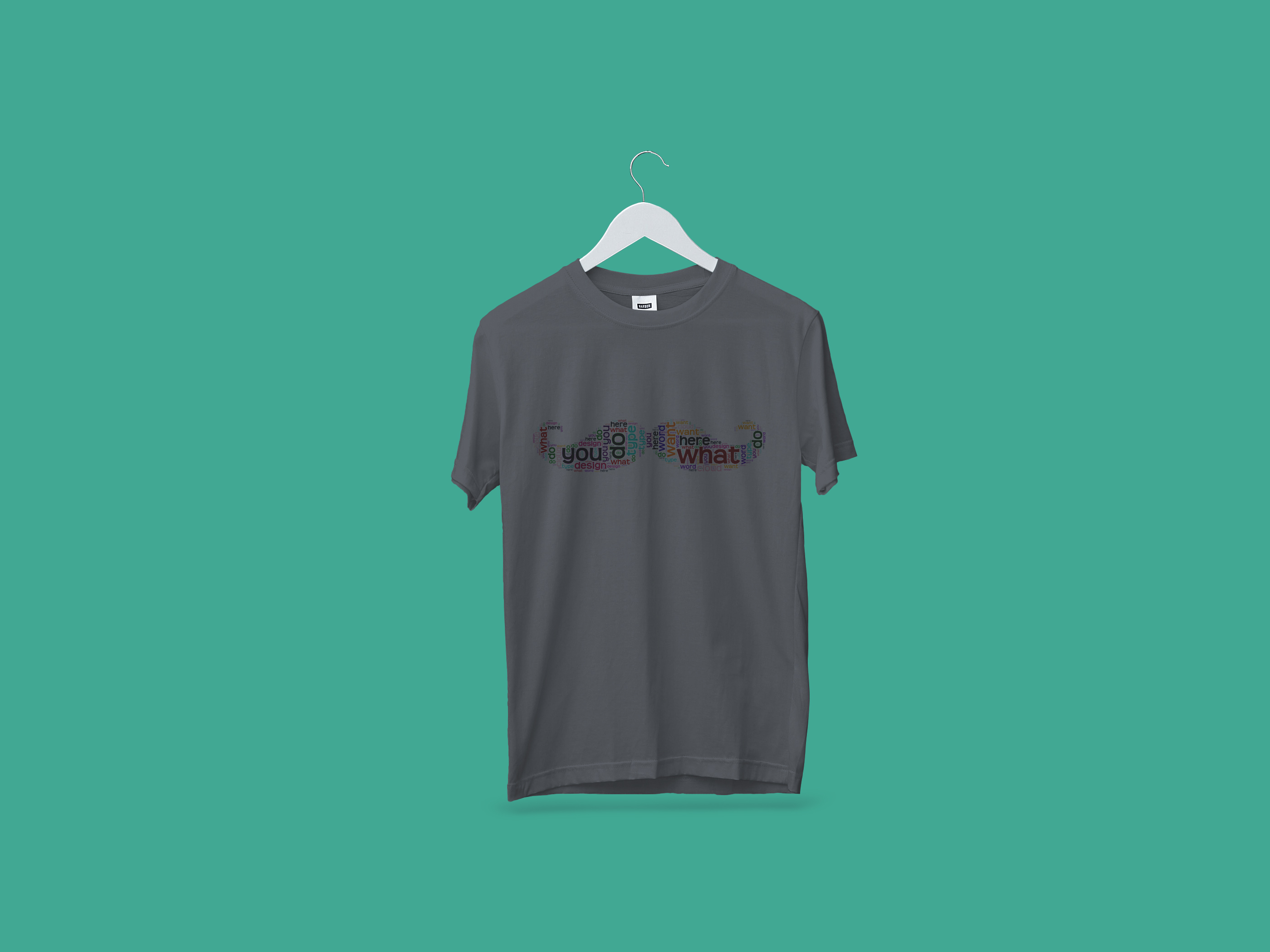 I will create word cloud T shirt design for you