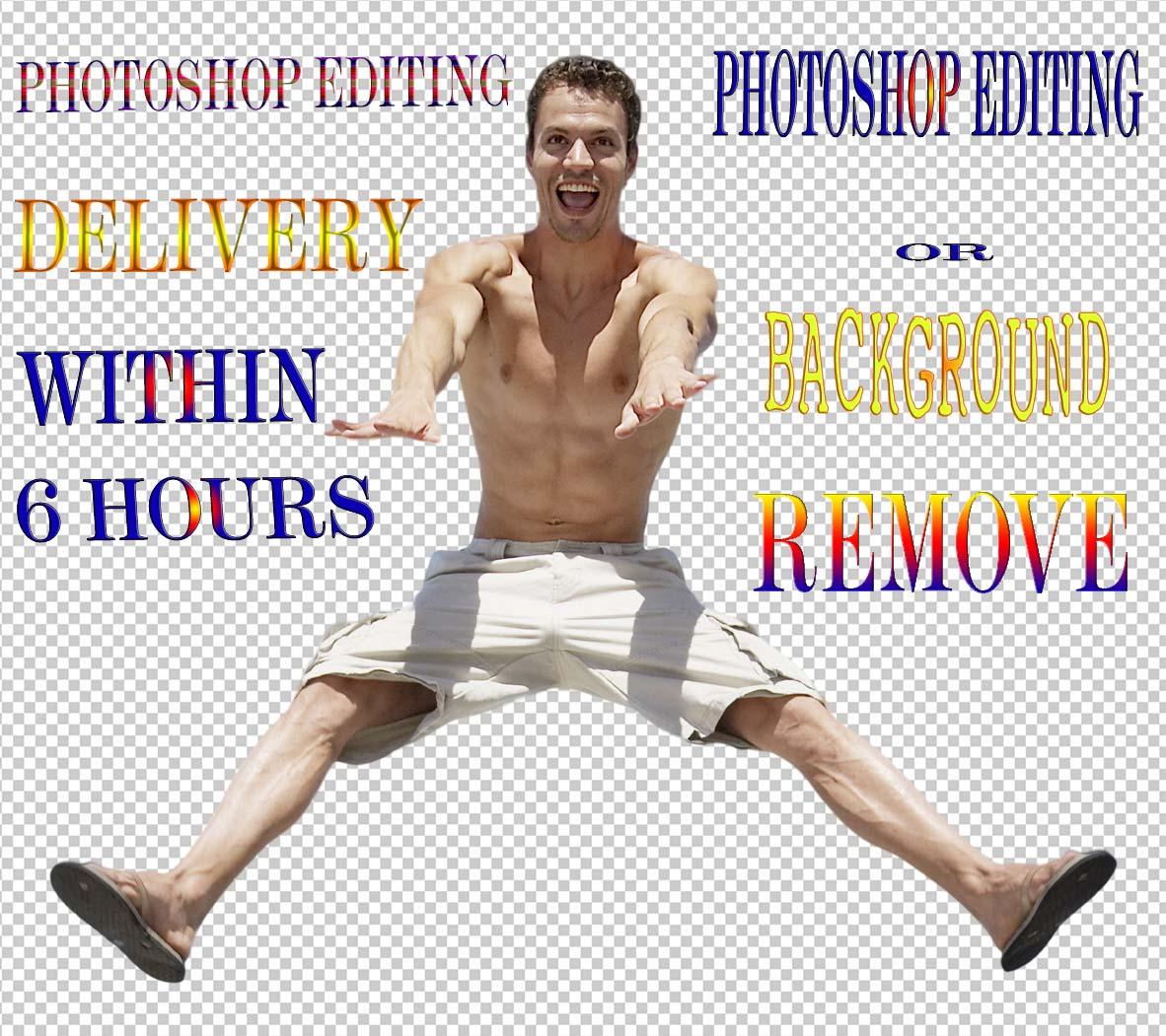 Remove White Background, Edit Photoshop Image