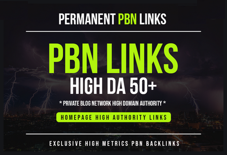 Build 10 PBN DA 50+ With Dofollow & permanent Backlinks