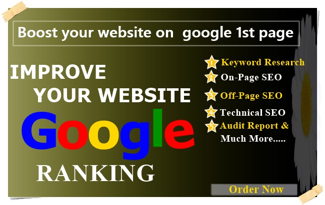 Rank Your Website on Google,  SEO Backlinks Manually 30 Days