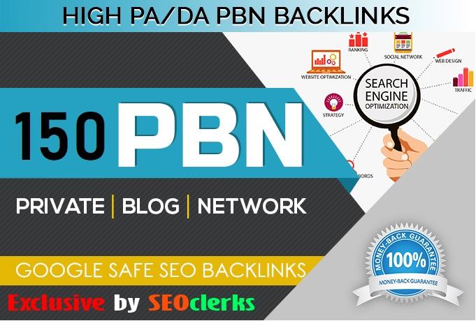 Get 150 HIGH TRUST FLOW HOMEPAGE Web 2.0 PBN DO-FOLLOW BACK LINKS DA 50+ PA 40+ 500+ Words Article