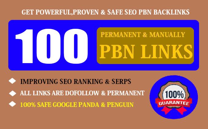 100 HIGH TRUST FLOW HOMEPAGE Web 2.0 PBN DO-FOLLOW BACK LINKS DA 50+ PA 40+ 500+ Words Article
