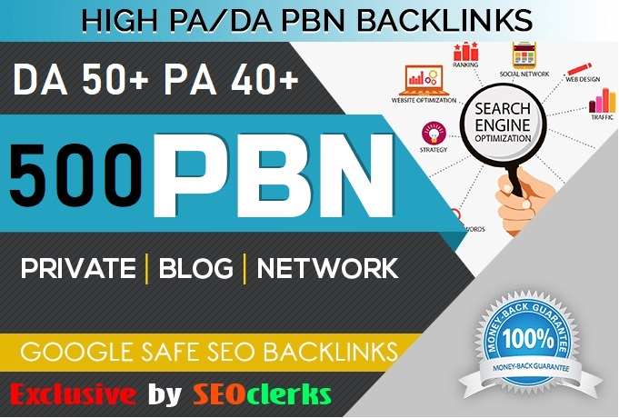 Get 500+ Web 2.0 Homepage PBN DA 50+ PA 40+ With 500+ Words Article