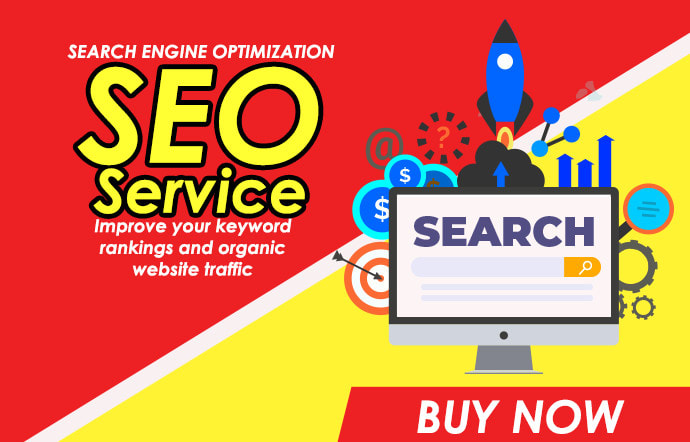 SEO Service Improve your low/medium/high keywords ranking in google 1st and organic website traffic