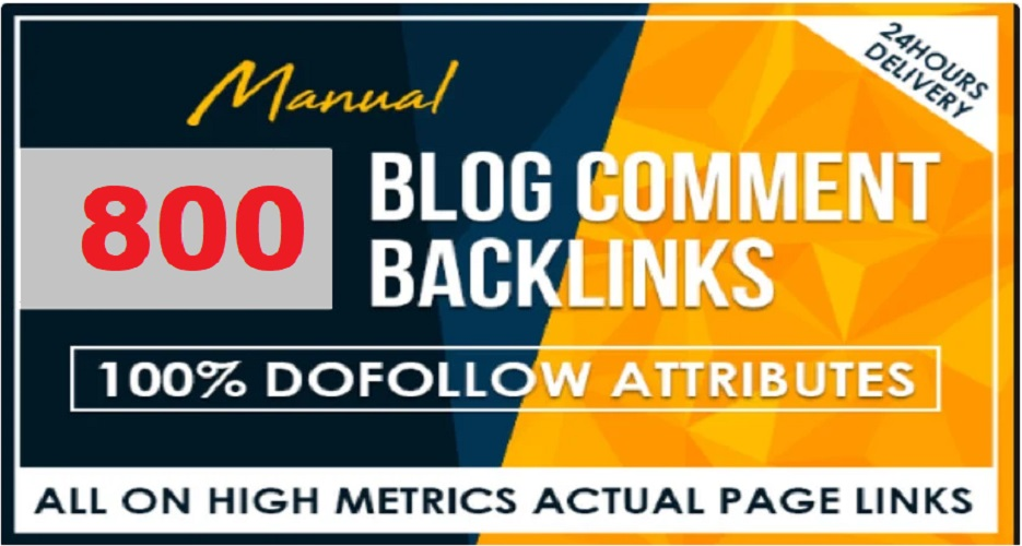 800 blog comments Dofollow backlinks in cheap prices