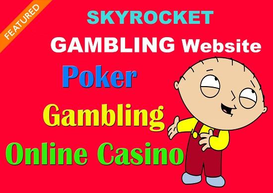 SEO Premium Backlinks Online Casino Poker Gambling Website Ranks On Google 1st Page
