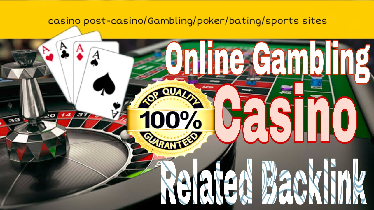 40000 backlinks Pack Google 1st Page Casino Poker sports Betting Gambling related