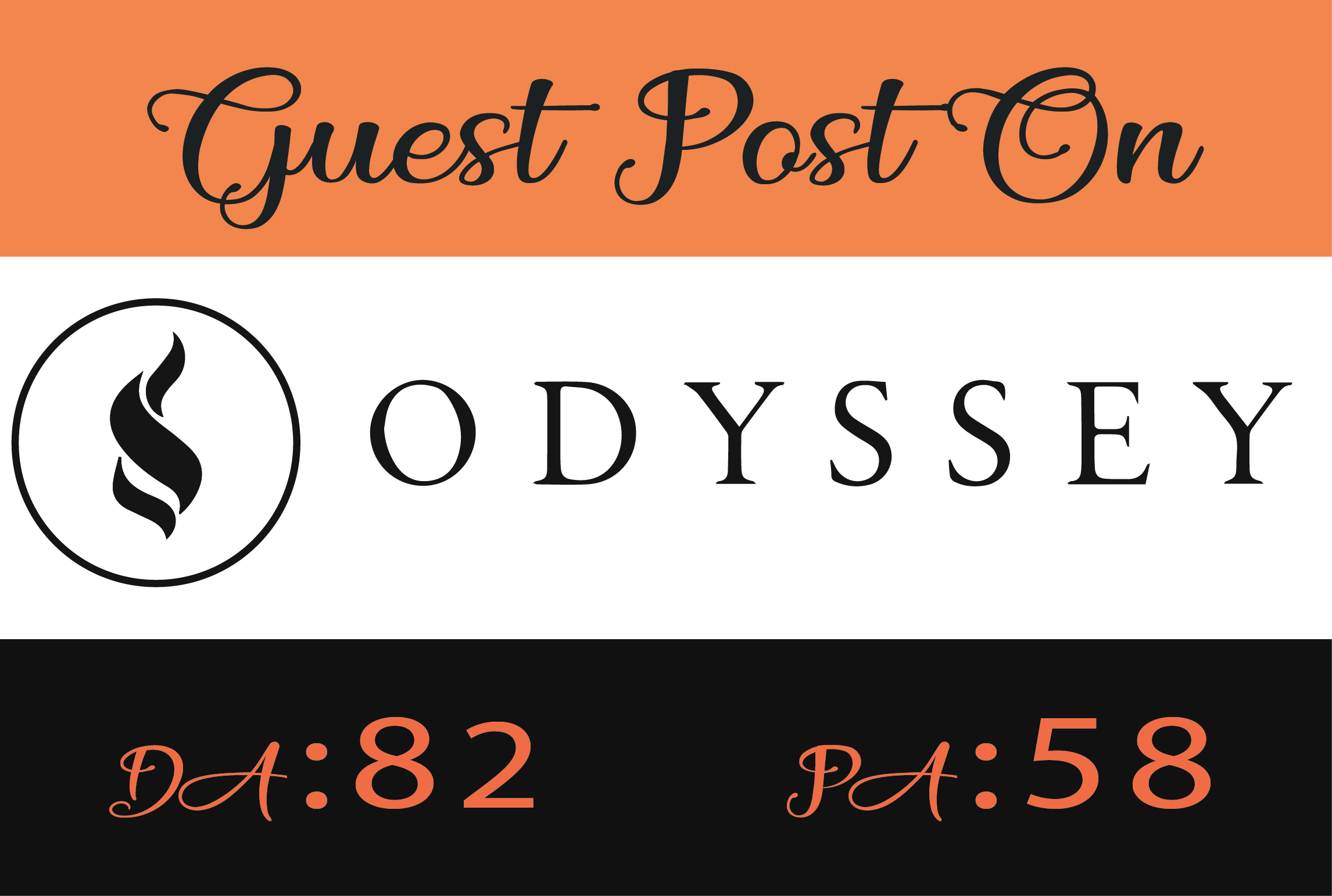 write and publish a guest post on odyssey online da82