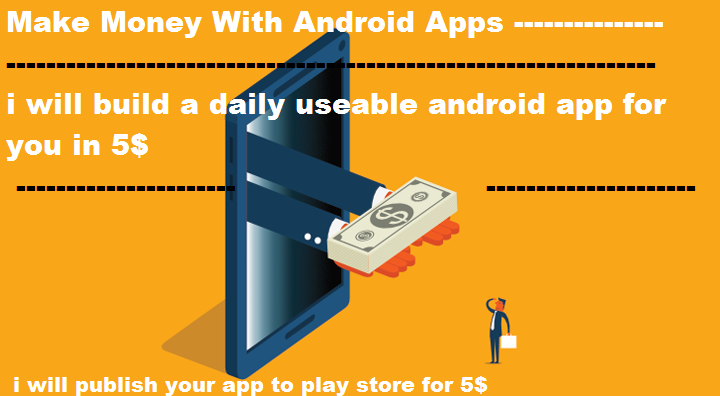 i will build an simple android app which can be used daily with admob ads