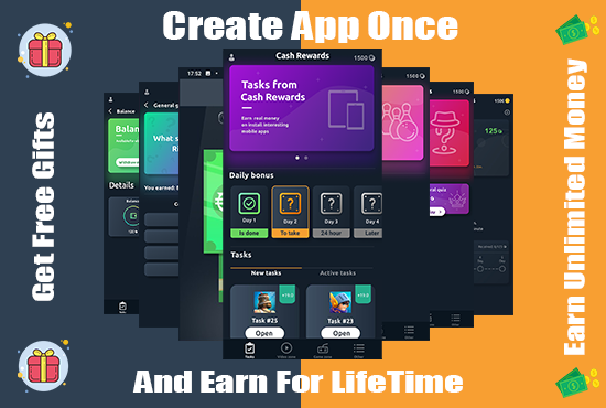 I will create admob adsense professional earning android app