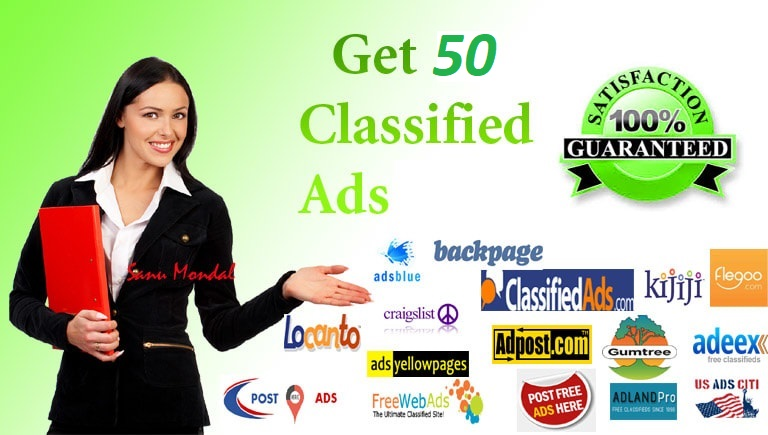 SUBMIT Your Ads To 30 Free Classified Ads Posting Sit...