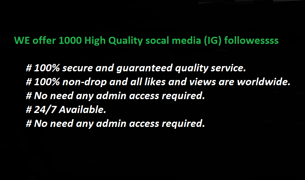Promote Social Media Profile to our Community of 1000 People