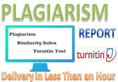 Check Plagiarism And Similarity Index With Turnitin Tool