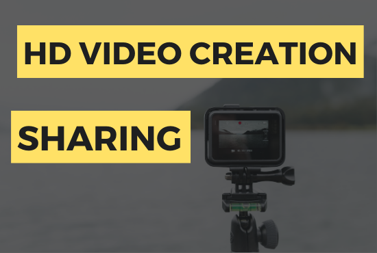 HD Video Creation & Video Sharing On Top 10 Sites for better off page SEO
