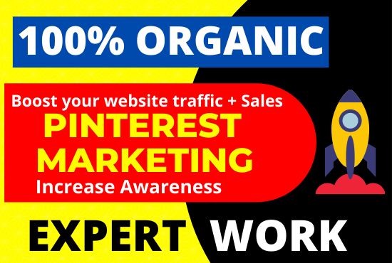 I will be your professional Pinterest marketing manager for 10 Day's