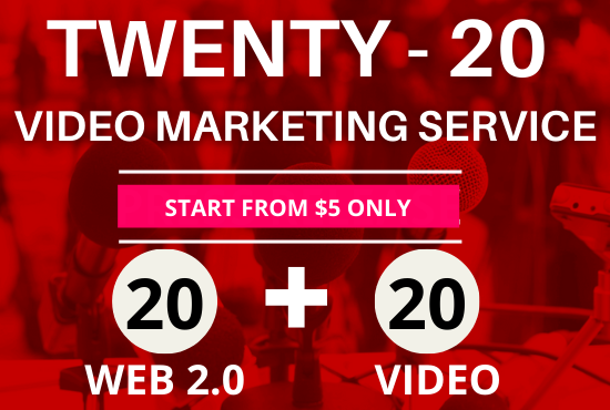Boost Your Website Traffic With 20 Video Sharing & 20 Web 2.0 Blogs, Off Page SEO