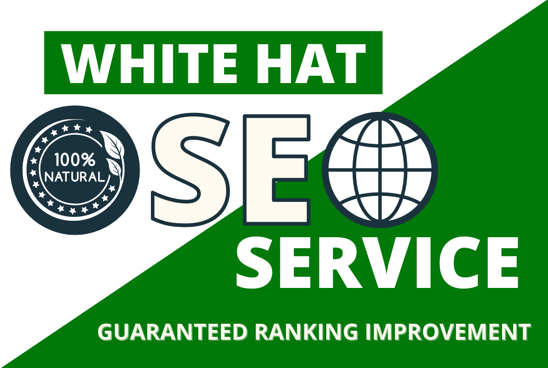 Guaranteed ranking improvement or refund with white hat manual off page SEO