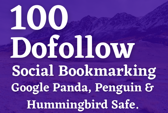 Magical & Verified 100 Social Bookmarking to rank page 1 on Google
