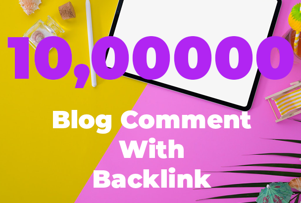 1 Million Blog comment SEO Backlink