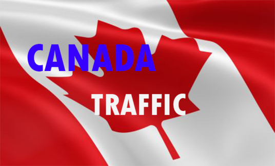 Drive 1000 ONLY CANADA Traffic - Keyword targeted traffic