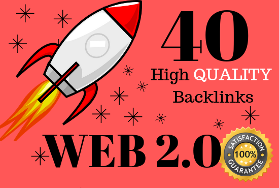 Create 40 Web 2.0 backlinks with unique article submission for SEO