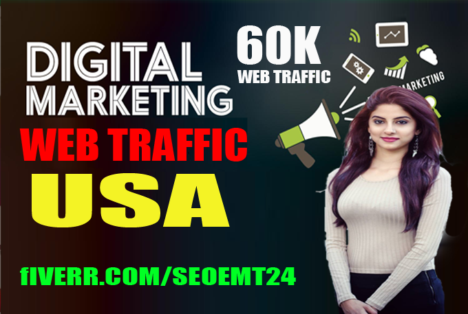 Web Site Traffic Usa Sales Funnel Real Organic