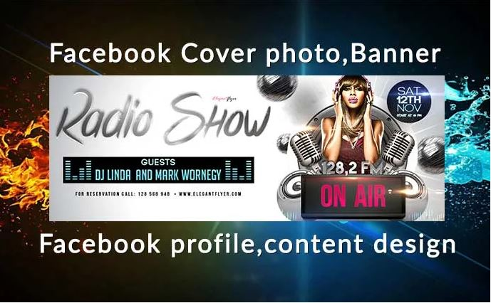 Design Professional Facebook/Instragram/twitter Cover...