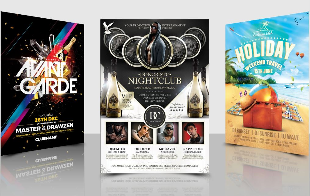 Design professional Flyer and poster for you Business.