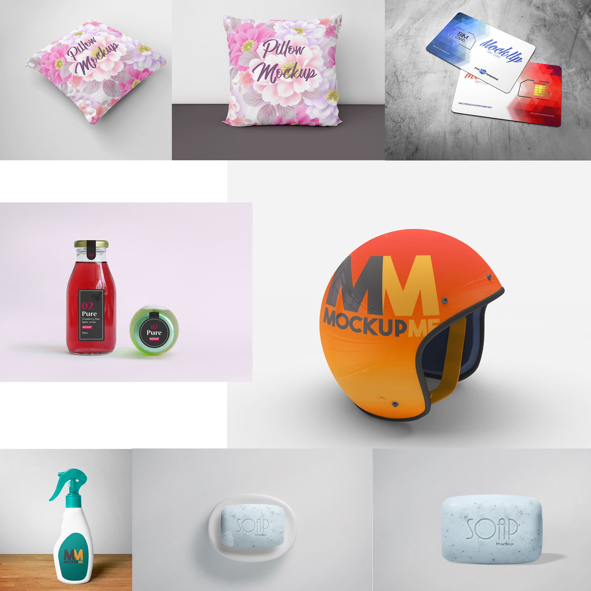 Product Packaging Design and 3d Mockup